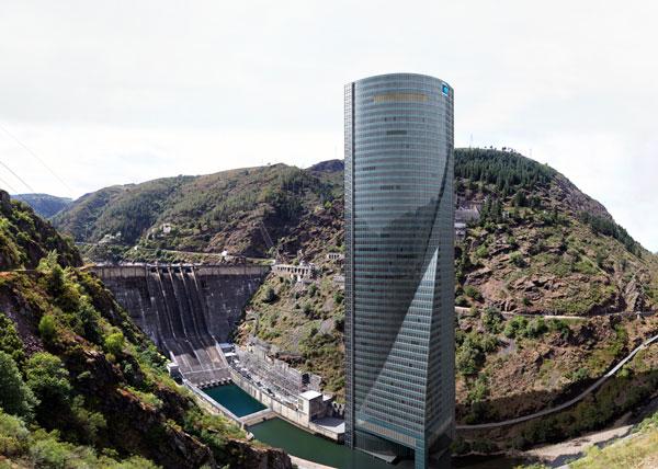 Torre Espacio en el Embalse de Grandas de Salime (Asturias)
