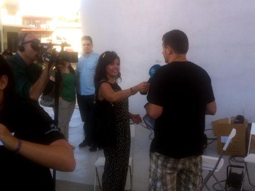 11:15 h. Entrevista de Canal Sur
