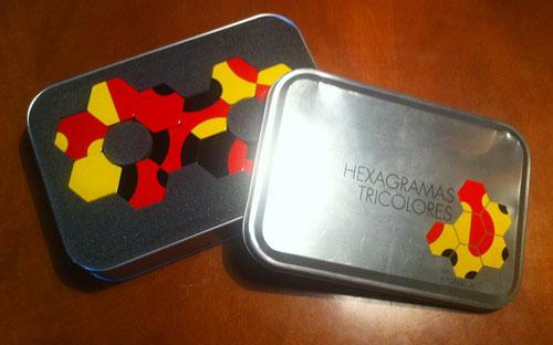 Hexagramas Tricolores